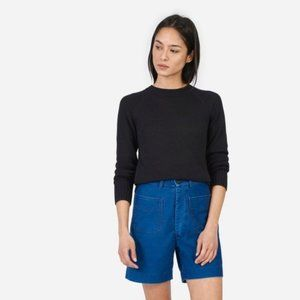 EVERLANE Open Knit Crew Sweater Small S